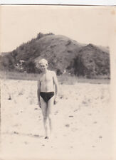1950s RARE Nude muscle man in briefs gay interest Russian Soviet photo