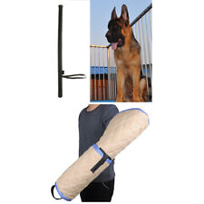 Dog Bite Sleeve for Young Malinois German Shepherd with Training Stick