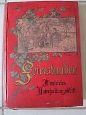 Feierstunden Illustriertes Unterhaltungsblatt 52 Hefte im XI. Band um 1900