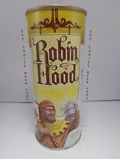 RARE ROBIN HOOD CREAM ALE 16oz STRAIGHT STEEL PULL TAB TEST BEER CAN #224-22