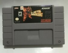 Metal Warriors SNES Super Nintendo USA edition video game cartridge cart