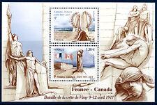 BLOC F5136 OU 5136-5137 NEUF XX - Emission Commune - France Canada -1917-2017