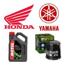 Pack vidange pour moto HONDA ou YAMAHA - MOTUL 5100 10W40 & HIFLOFILTRO HF303