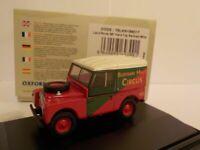 Model Car, Land Rover - Bertram Mills, 1/76 New