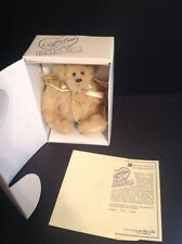 Dolls & Bears Fine Annette Funicello Collectible Bear Bambina Limited Edition Coa