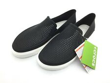Women's Modi Sport Slip-On Loafer by Crocs, Black, Size 11
