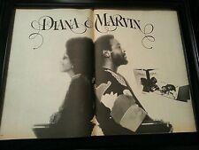 Diana Ross and Marvin Gaye Rare Original Promo Poster Ad Framed!