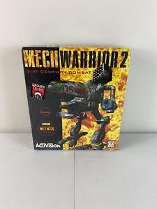 Big Box MechWarrior 2 (PC/IBM, 1995) New Sealed ACTIVISON Win 95