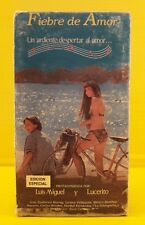 Fiebre de Amor - VHS ( Luis Miguel - Lucerito ) Raro HTF OOP Vintage Rare
