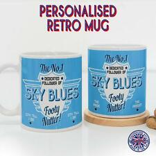 Coventry City Mug Football Tea Coffee Diner Cup Retro Fan Personalised Gift DM24
