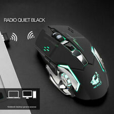 Wireless mouse quiet and comfortable rechargeable gaming mouse optional 4 colors