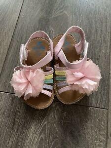 Baby Girls Sandals Size 3