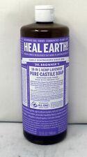 Dr. Bronner's 18-In-1 Hemp Lavender Pure Castile Soap 32 Ounces