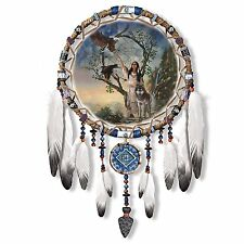 Mystic Dream Native American Style Dreamcatcher Wall Decor NEW