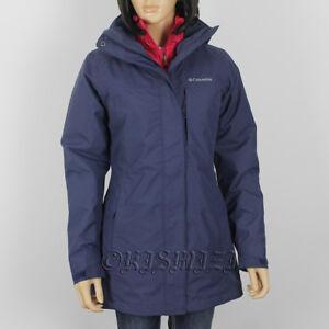 "$240 New Womens Columbia ""Frigid Flight"" 3in1 Omni-Heat Interchange Long Jacket"