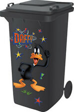 Looney Tunes Collectors Wheelie Bin Sticker Kit - Daffy Duck