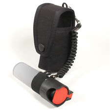 SP3 Protec Police Black CS Spray holder with lanyard
