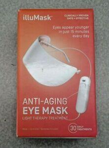 Illumask Anti-Aging Eye Mask Light Therapy Mask 30 Treatments New Sealed Charity