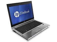 "HP EliteBook 2560p 12.5"" Laptop Core i5 2.50GHz, 8GB DDR3 500GB HDD, Win7 Pro"