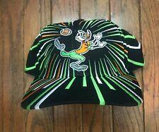 Vintage 90s Goofy Football Walt Disney Snapback Hat Baseball Cap