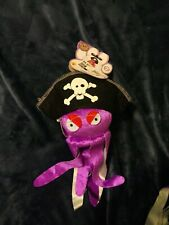 New With Tags Rubies Pet Shop Octopus Hat  Dogie Costume Size M/L