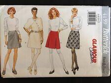 Pattern Butterick 4159, misses' skirt, above knee, a-line sz 6-12