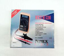 CS 4580 MULTIMETRO DIGITALE MUCH NI 3200 NIMEX