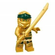 LEGO 30173 Pearl Gold SWORD Katana w// Octagonal Guard for Samurai Minifig 3 Pcs