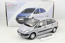 China Dealer(Dongfeng) 1:18 scale Citroen Xsara Picasso(Silver) Limited w/Base
