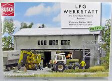 Busch 1411  Bausatz LPG Werkstatt H0