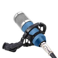 PROFI STUDIO MIKROFON Kondensator Microphone Mic Dynamic + Shock Mount BM-800 BL