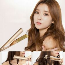2 IN 1 Curl & Straigtening IRON Dual-purpose Straight & Curl **UK FAST POST**