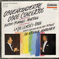 oboe concertos - haydn .hummel.martinu