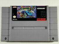 Teenage Mutant Ninja Turtles In Time IV  GREAT Super Nintendo Snes game US