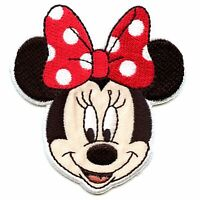 "8.5/"" clear//pink Minnie Mouse iron on Disney rhinestone transfer applique decal"