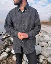 VINTAGE 90s Camicia RALPH LAUREN da per uomo XL shirt camicie polo manica lunga