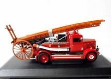 Antique Auto Dennis Fire Engine Dept Feuerwehr 1938 Light Four Miniature Model