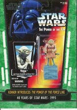 Star Wars 40th Anniversary Green Base Card #79 Kenner Introduces The Power of t