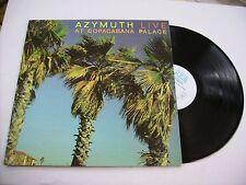 AZYMUTH - LIVE AT COPACABANA PALACE - RARE LP VINYL 1985 SBA - SIGLA DI MIXER