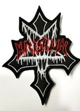 KRISIUN  EMBROIDERED PATCH