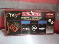 Monopoly Corvette 50th Anniversary Collector's Edition USAopoly