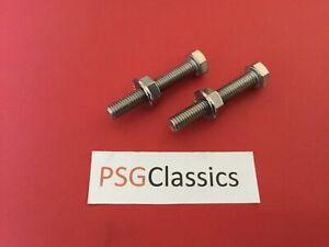 Suzuki GSXR600 GSXR750 GSXR1000 Stainless Chain Adjuster Screws Bolts Nuts GSXR