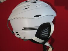 Smith Variant (No Brim) Helmet Large White Ski Snowboarding 59-63cm