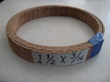 """WOVEN HD BRAKE AND CLUTCH LINING MATERIAL 1 1/2"""" WIDE X 3/16"""", SOLD BY THE FOOT"""