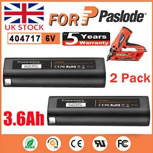 2x For Paslode 6V 404717 Battery Nailer Nail Gun IM65A IM250 IM350 900600 902200