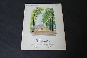 (73) Menu Versailles French Line CGT S.S Flandre 24 Septembre 1958