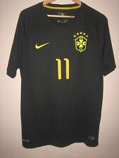 A 100% GENUINE OSCAR 11 BLACK NIKE FOOTBALL T-SHIRT 2014 AUTHENTIC No 002636607