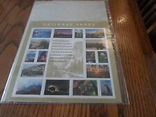 National Parks Yellowstone Grand Canyan Everglades Stamp Mint Full Sheet Sealed
