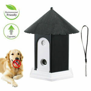 Outdoor Ultrasonic Anti Barking Device  Dog Bark Control Waterproof Pet Training