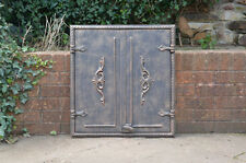 65 x 60 cm cast iron fire door clay bread oven doors pizza stove fireplace